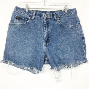 Vintage Lee High Waisted Cut Off Jean Shorts